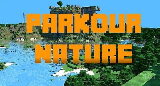 Parkour Nature [1.8] [Карта]