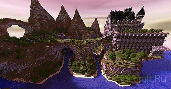 Borsas - Dungeon by HistoryCraft [Карта]