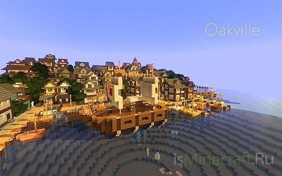 Minecraft town-Oakville [Карта]