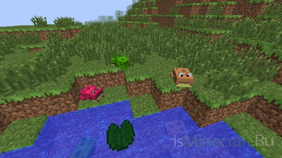 Water Mobs Aycreature [1.7.10]