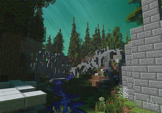 Aethra - Elvish ruins [Карты]