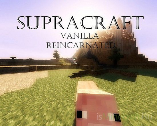 Supracraft Resource Pack [1.7.8] [128x]