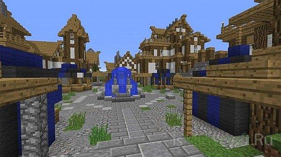 Rendale - Minecraft Town [Карта]