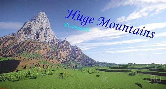 Minecraft Huge Mountains [Карта]