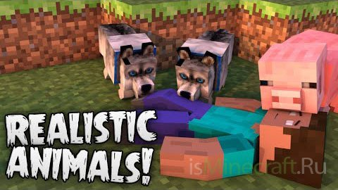 Hungry (Realistic) Animals Mod [1.7.10]