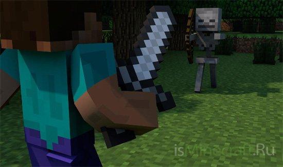 Minecraft: тактика ведения боя со скелетами
