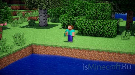 Первый день в Minecraft