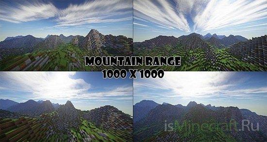 Mountain Range [1000x1000]