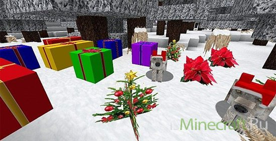 Zedercraft Christmas HD [1.8.1] [256х]