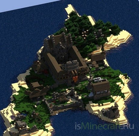 Castle Island Outpost [Карта]