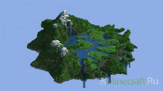 Floating Hub Terraform [Карта]