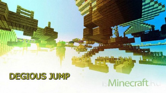Degious jump - Sprint Parkour Map [1.8]