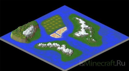 Slip - Custom 2000x2000 Terrain [Карта]