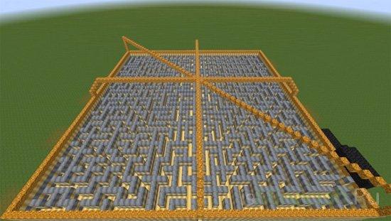 Locked Maze 60x60 [Карта]