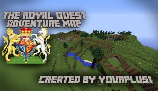 The Royal Quest - Adventure Map 1.8 [Карта]