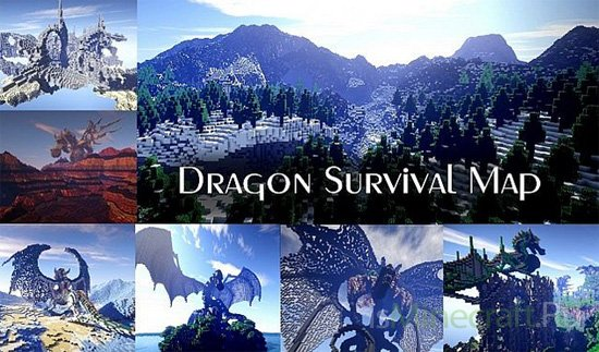 Dragon Survival Map [Карта] [1.8.1]