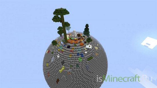 Skyspheres Survival Map by Blank512 [Карта]