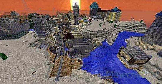 Oasis City [Карта]