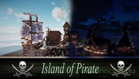 Island of Pirate - Plot [Карта]