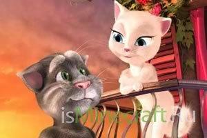 Игра «Говорящий кот Анжела»